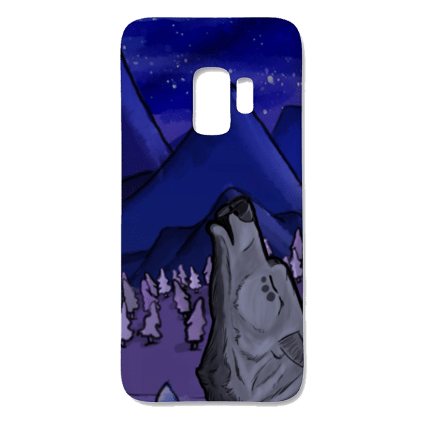 howling wolf alador phone case