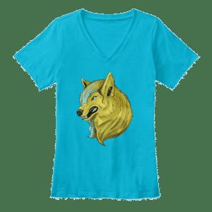 kara from wolf song t-shirt